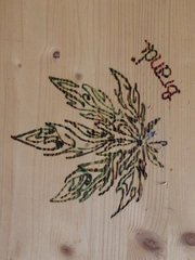 wood burning